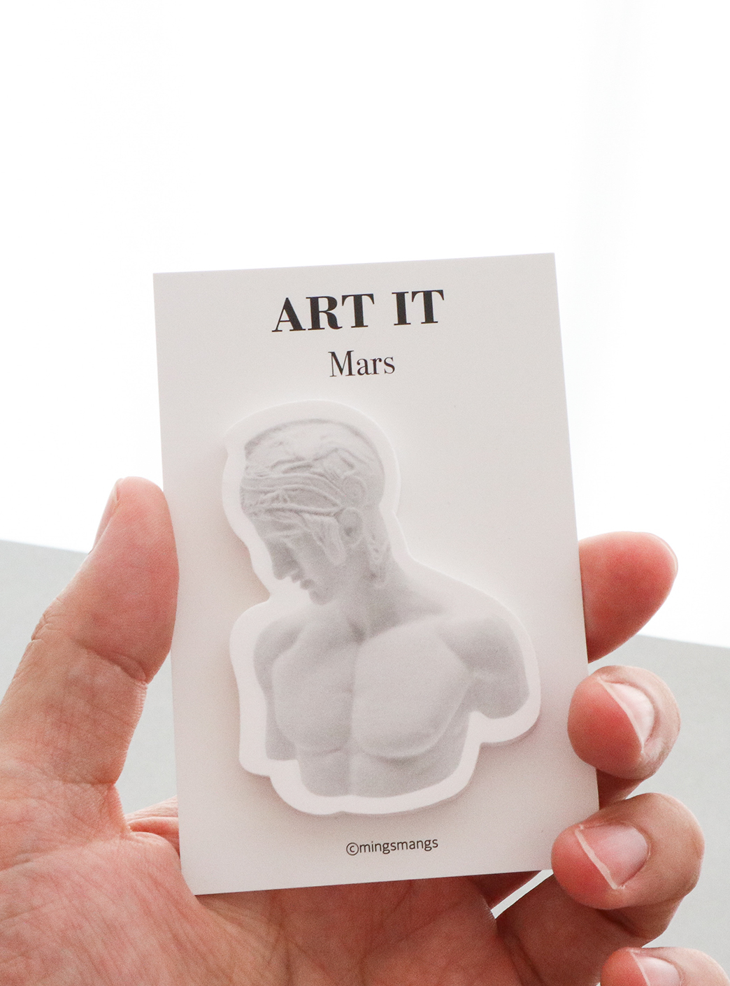 ART IT STICKY MEMO - MARS