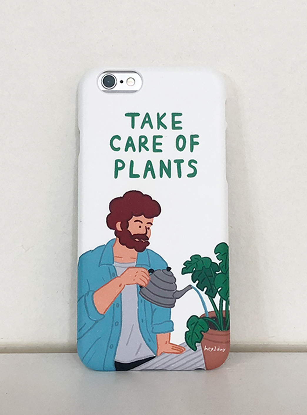 take care of plants 하드케이스