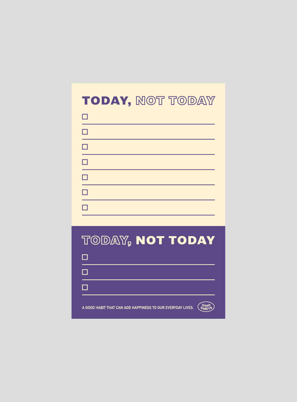 TODAY NOT TODAY - VIOLET
