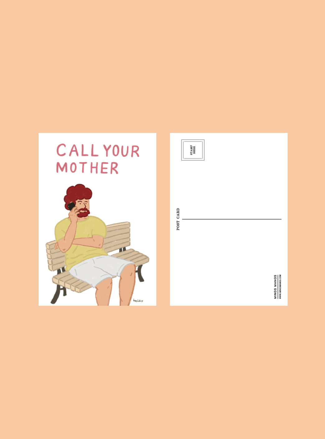 call your mother 엽서